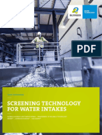 Water Intake Brochure