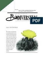 biodiversitas, las cactaceas