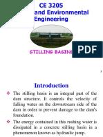 Stilling basins