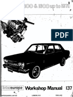 Workshop Manual Datsun 1300 1600