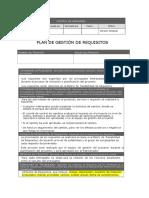 2.2.2.1.4.1 Plan de Gestión de Requisitos
