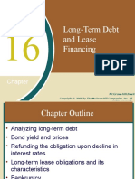 Chap016 Long-Term Debt and Lease Financing