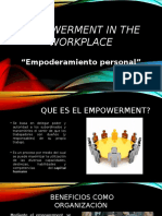 Empowerment in the Workplace