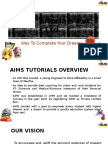 Aims Tutorials Pvt. Ltd. Overview