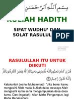 Sifat Solat Nabi yang shahih