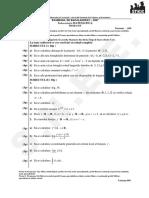 05-Matematica M2 Varianta 050