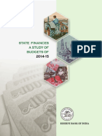 RBI Report on State Finances