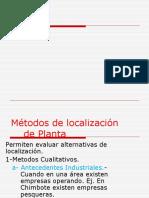 Metodos Localizac.clase
