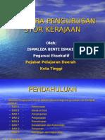 TATACARA PENGURUSAN STOR KERAJAAN TPS 5 2009.ppt