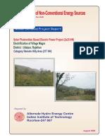 Model Project Report_Solar