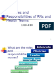 Roles and Responsibilities of RN-Aj. Ariel (1)