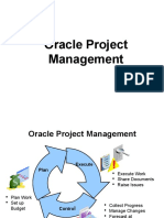 New Oracle Project Management Presentation