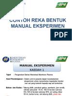 Contoh Reka Bentuk Eksp.