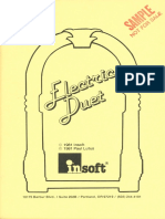 Electric Duet Manual