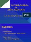 Atty. Vaflor-Fabroa v. Atty. Paguinto