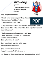 Text Superhero Joey