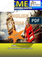Cover English Form 3