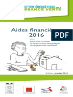 Guide Aides Financieres Renovation Habitat 2016