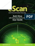 eScan Antivirus With Cloud Security For SMB