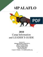 2010 Camp Alaflo Leaders Guide