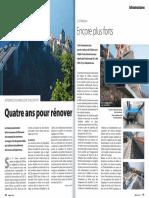 Batir Aout 2015 Viaducs de Chillon Quatre Ans Pour Renover