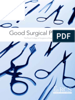 GSP 2014 Good Surgical Practice