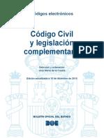 Codigo Civil y Legislacion Complementaria