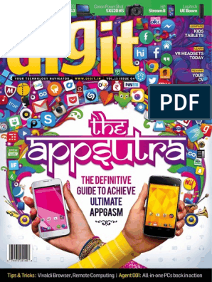 Digit Vol 15 Issue 04 April 2015 Server | Laptop | Ios