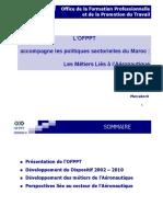 L'OFPPT Accompagne Les Politiques Sectorielles Du Maroc - Les Métiers Liés à l'Aéronautique