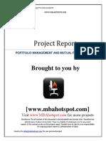 Portfolio Management And Mutual Fund Analysis.pdf