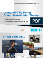 Lecture 3 Doing Well by Doing Good Stakeholder Theory (1)