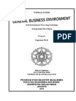 Technological Environment - Processing Technology
