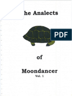The Analects of Moondancer Vol. I