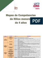 Mapas competencias infantiles