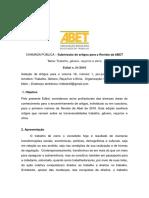 Revista ABET Edital Chamada Artigos 2016 Divulgação 2 Fim-1