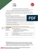 Checkliste Barrierefreies PDF