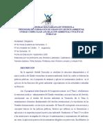 Legislacion y Politicas Publicas Programa