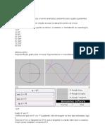 Atividade Estruturada - Introdução Ao Cálculo - Noções Trigonométricas 2014