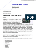 Embedded OS [Linux & Co ]