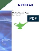 Netgear Genie App- User Manual
