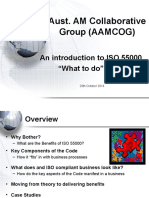 Introduction to Iso 55000 Asset Management