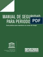 Manual Seguridad Periodistas 2015