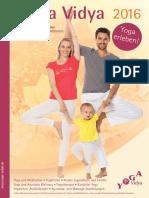 Yoga Vidya Hauptbroschüre 2016