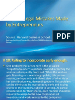 ten mistakes made by etrs
