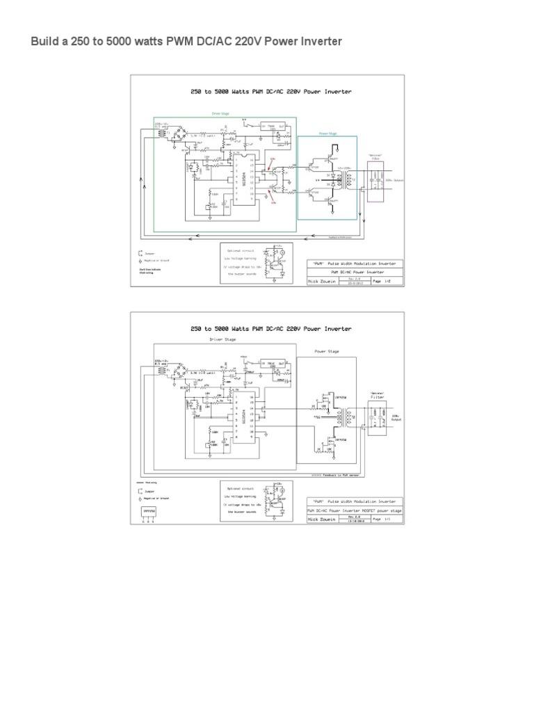 250 to 5000 Watts PWM DC_AC 220V Power Inverter _ Nonstop ...
