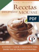 84 Recetas Para Preparar Mousse - Mariano Orzola
