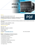 Administration de HP Blade SystemHP