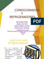 Aires Acondicionados y Refrigeradores