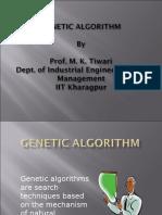 1) Genetic Algorithm
