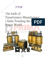 The Trade of Transformers Manufacturers India Trending the New Power World